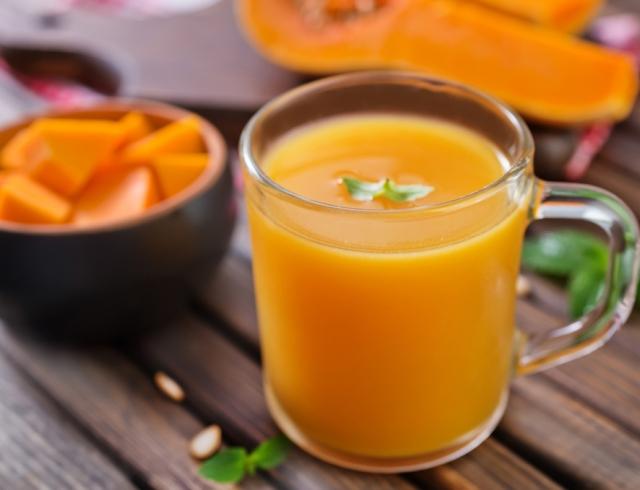 Как приготовить полезный тыквенный сок