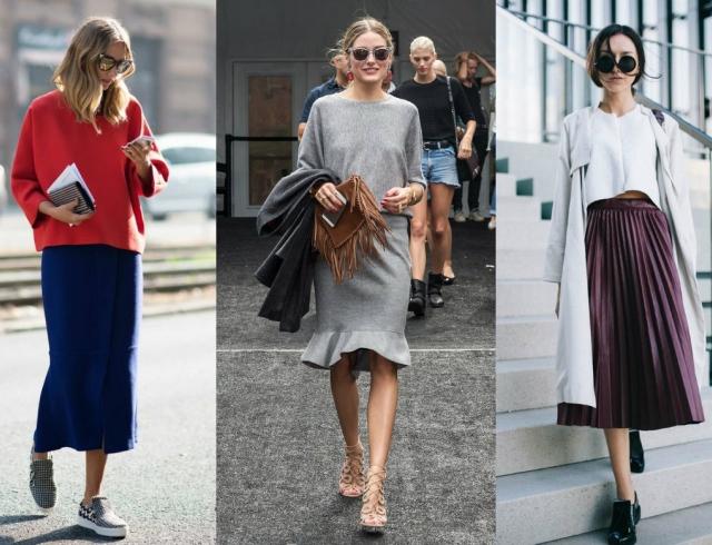36e1a9bdb9d Street style  модные юбки 2015 16 (+50 фото)