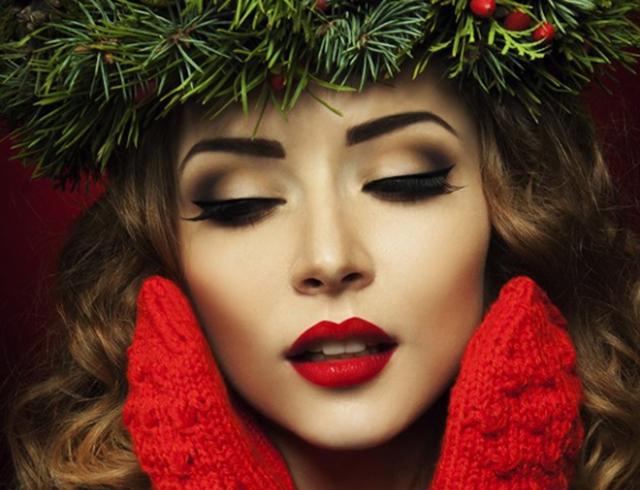 Картинки по запросу новогодний макияж