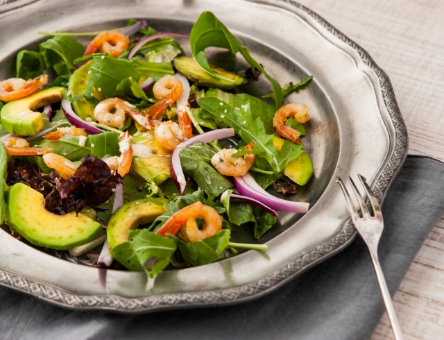 Вкусный салат на новый год с морепродуктами