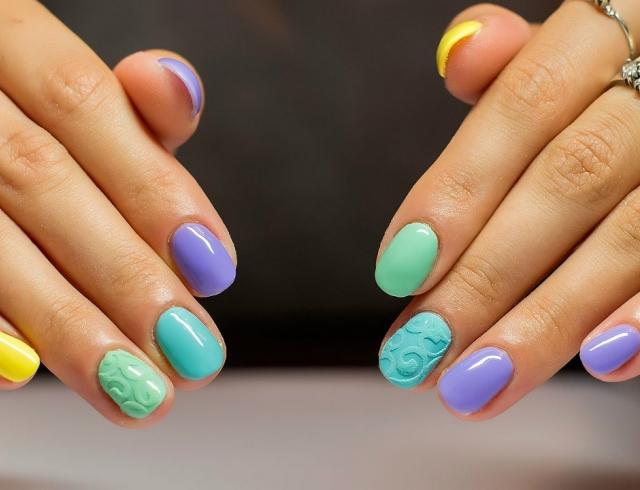 Как делают ногти смотреть