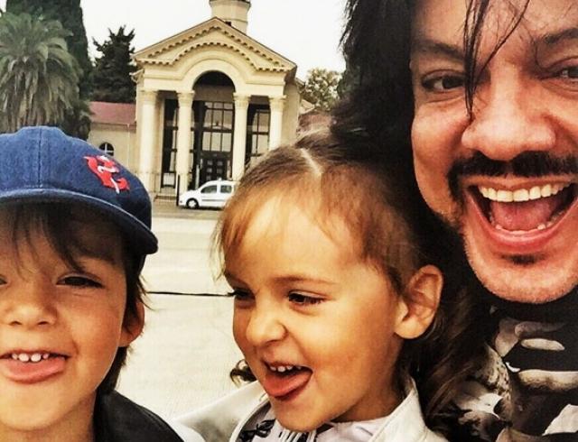 филипп киркоров и его дети инстаграм