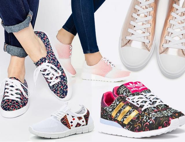 Какие кроссовки и кеды в моде  подборка свежих моделей с подиумов и  магазинов 61e7f4437d8