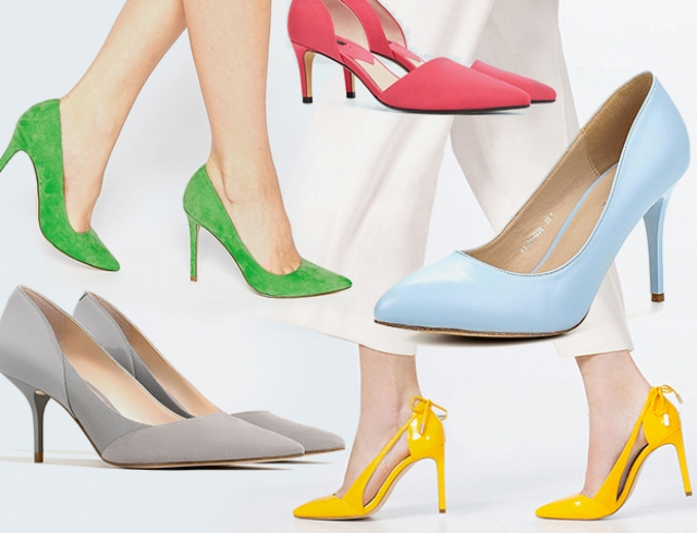 вариации туфель лодочек