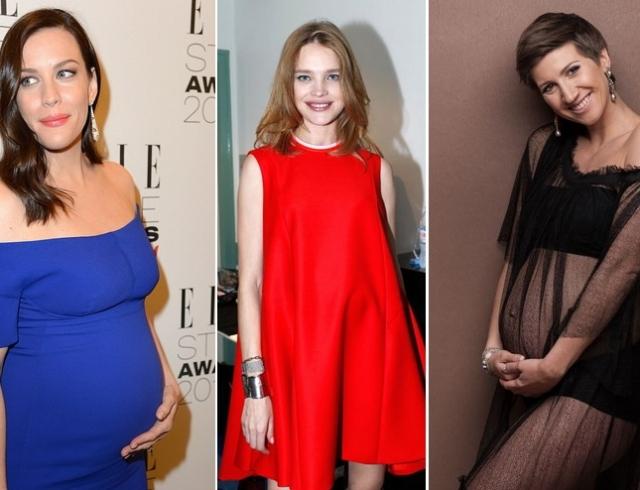 Российские звезды беременные смотреть