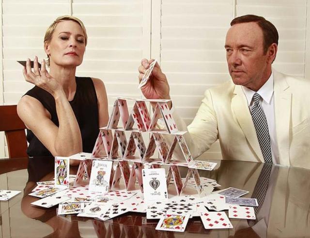 Карточный домик и гонорары звезд как Робин Райт добилась такой же зарплаты как у Кевина Спейси