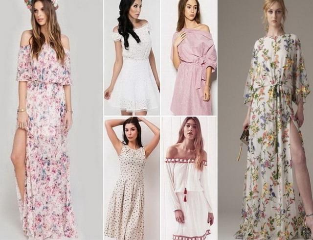 Фото моделей женского платья