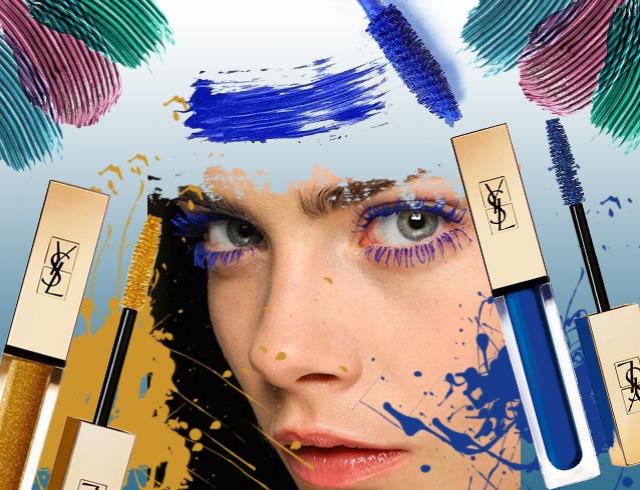 Картинки по запросу цветные туши для ресниц
