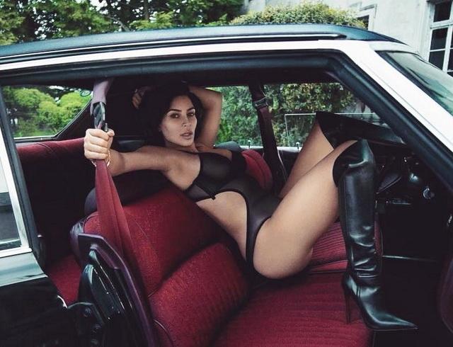ОНА вернулась! Ким Кардашьян снялась в новой сексуальной фотосессии. Горячие фото...