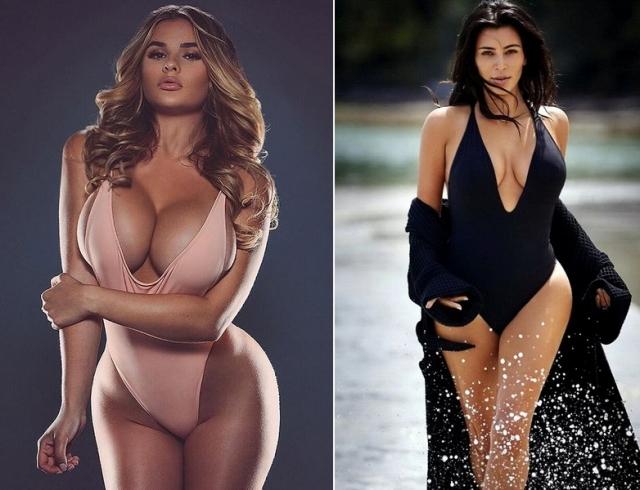 Российская Ким Кардашьян раскритиковала своего кумира