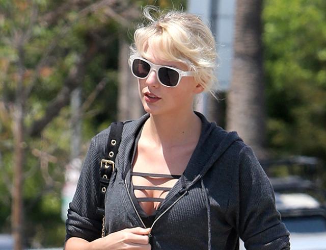 СМИ: длинноногая красотка Тейлор Свифт увеличила грудь
