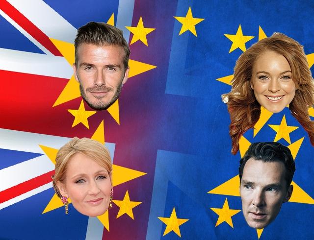 Великобритания проголосовала за выход из ЕС: реакция звезд
