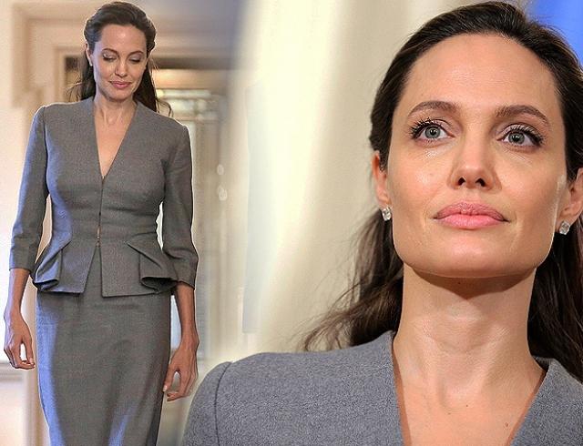Всего за месяц Анджелина Джоли заметно поправилась