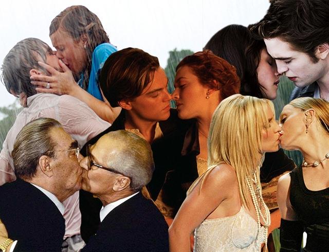 Кино секс и поцелуи