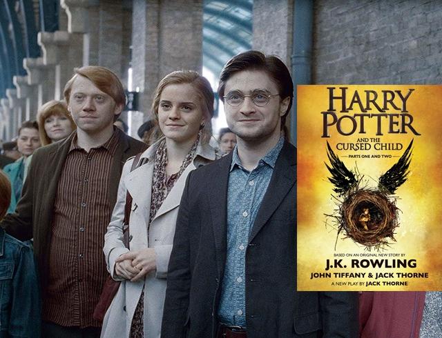 Гарри поттер 8: проклятое дитя. Дата выхода книги/ новые актеры.