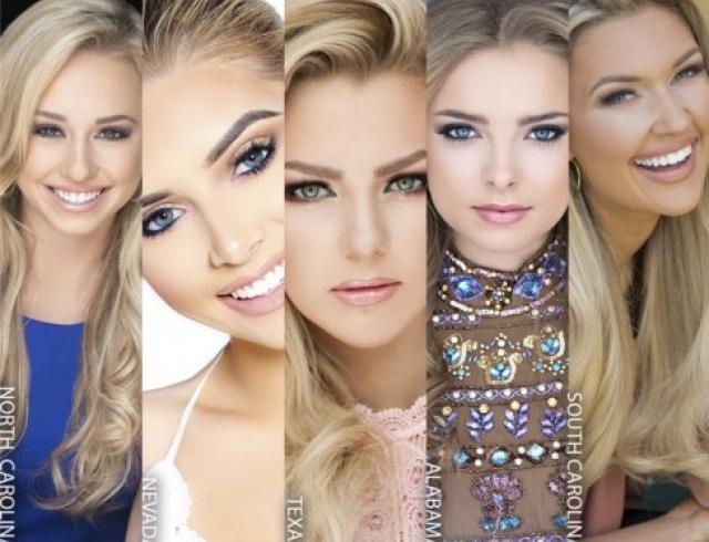 """""""Красивый"""" скандал: в финал американского конкурса красоты Miss Teen USA вышли 5 """"одинаковых"""" девушек"""