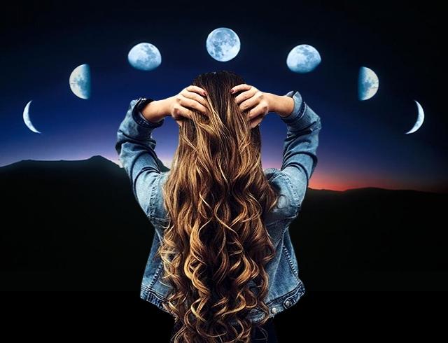 Когда лучше красить волосы по луне