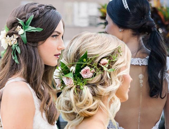 Сексуальные причёски на свадьбу