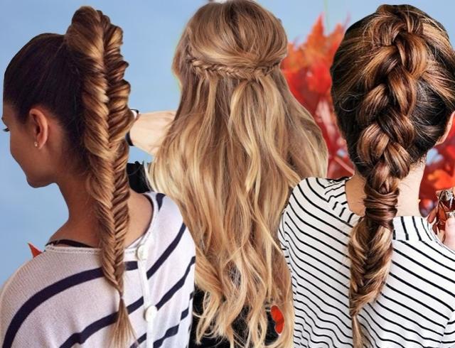 Прически в школу для длинных волос в школу