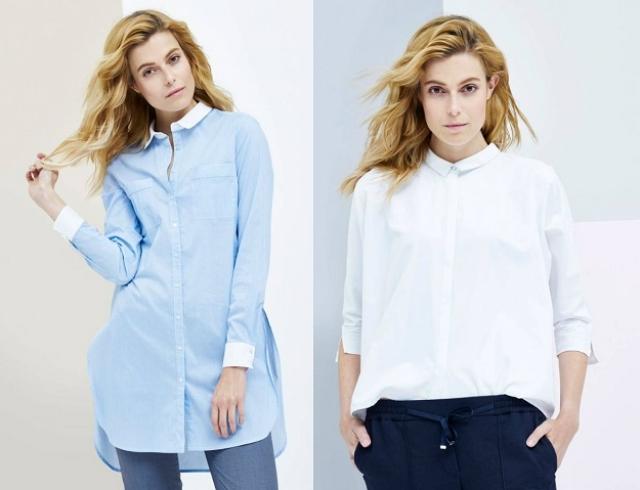 e1c7bc51025 Модные женские рубашки на осень 2016 для офиса (фото)