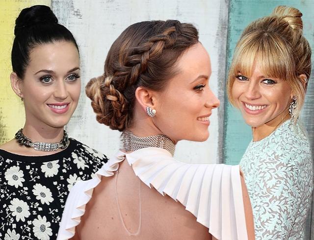 Как носить модную прическу пучок: берем пример у звезд (фото)