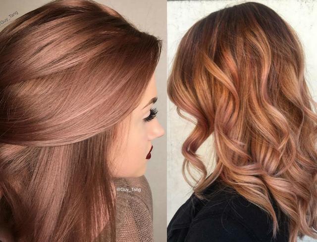 Роуз голд: самый модный цвет волос сезона осень-зима 2016 (фото)
