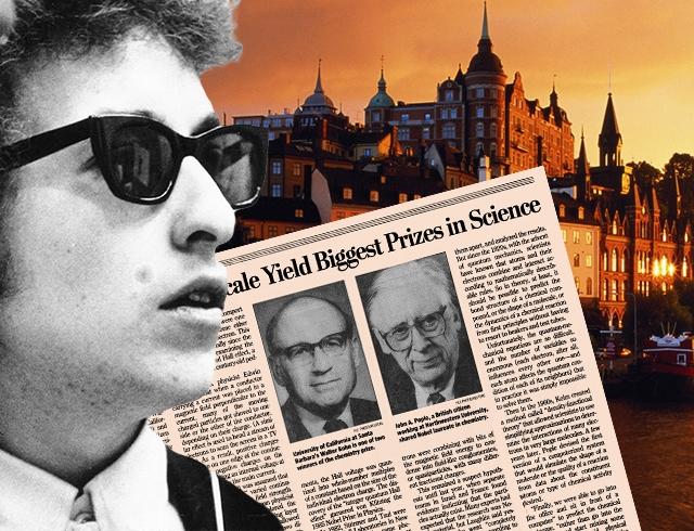 Ссайта Боба Дилана исчезло единое упоминание Нобелевской премии