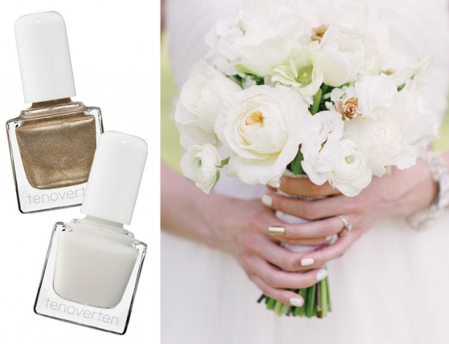 Свадебный маникюр: как выбрать оттенок лака под цвет букета? Инфографика