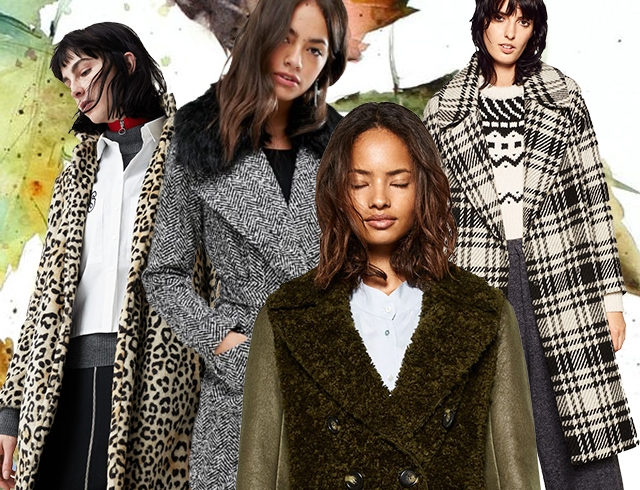 af22c42cb03 Модное женское пальто осень-зима 2016 2017  как правильно носить и ...