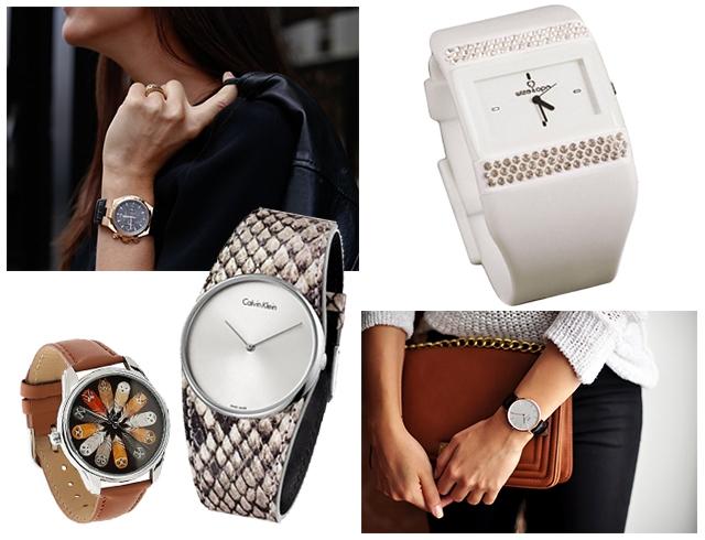 Модные женские часы 2016-2017  фото стильных часов для женщин 4cd5cc7aae2ae
