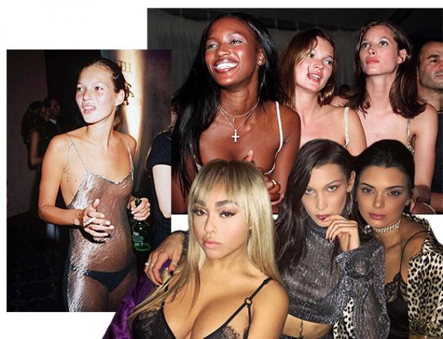 Супер модели в секс вечеринках