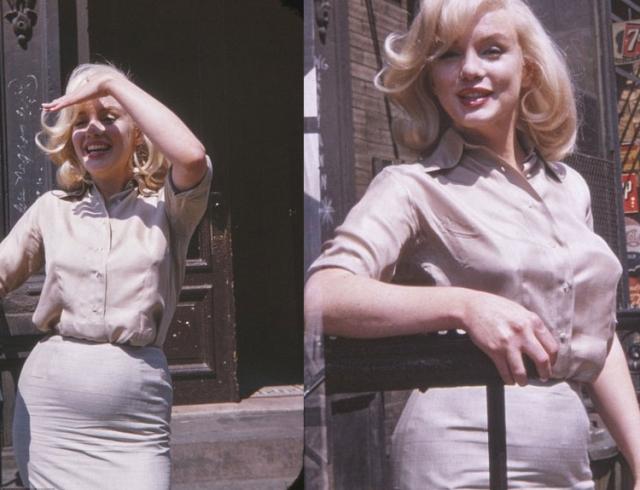 ВСМИ опубликовали неизвестные доэтого кадры беременной Мэрилин Монро