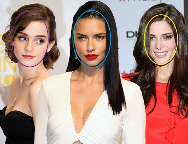 как определить овальное или круглое лицо