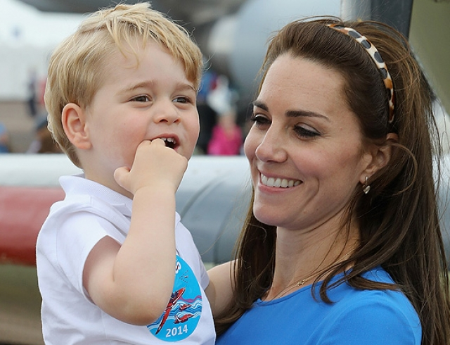 Герцог игерцогиня Кембриджские определились свыбором подготовительной школы для принца Джорджа