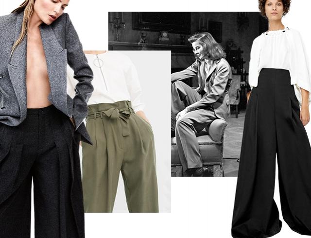 02e2b534aef5 Рассказываем, где такие купить, как носить и с чем сочетать самые модные  женские брюки весны и лета 2017.
