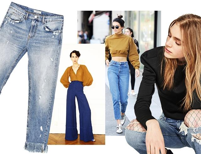dbf56313c30 Модные женские джинсы весной 2017 года  популярные модели