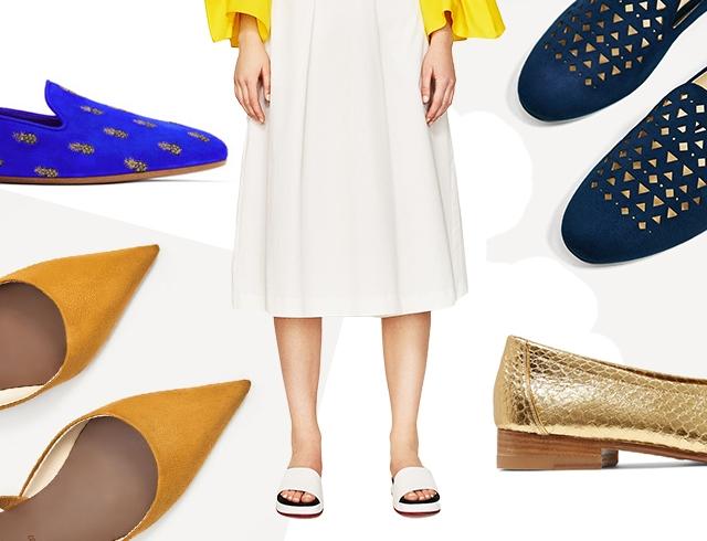 4678f784a Модная обувь без каблука на весну 2017: масс-маркет и украинские бренды
