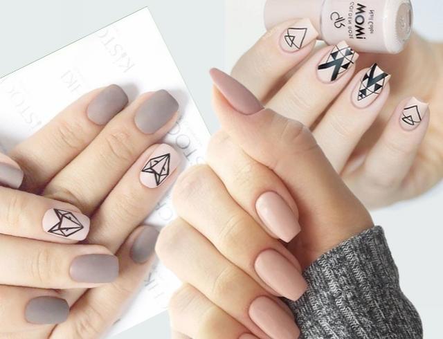 Короткие Ногти Дизайн Новинки 2019 Френч