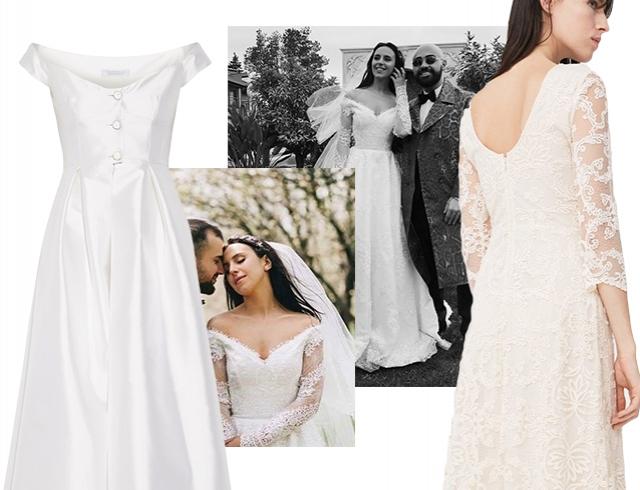 Свадебное платье фото