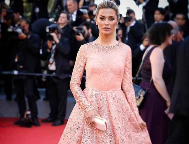 Виктория Боня восхитила нежным образом на красной дорожке Каннского кинофестиваля (ФОТО)