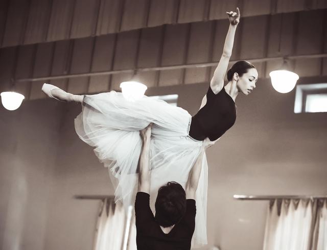 Секс у балерины должен быть