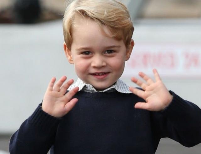 Представлен новый официальный портрет принца Джорджа