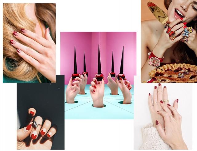 Всегда модный и подходящий: красный маникюр как классика, которая идет всем (ФОТОидеи)