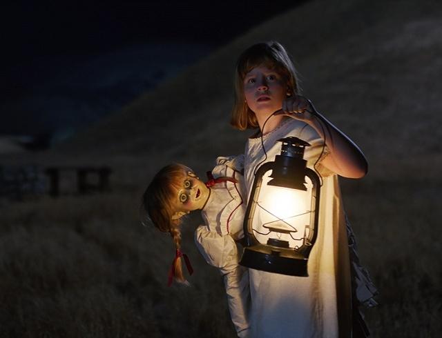 Одержимая кукла Анабель вновь на больших экранах: спастись от жаждущего мести духа!