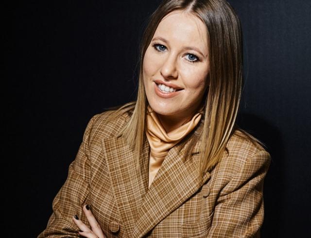 Ксения Собчак прокомментировала появление модели в хиджабе на обложке глянца