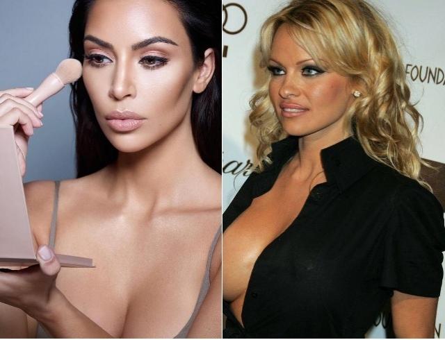 Из одного секс-символа — в другой: Ким Кардашьян снялась в образе Памелы Андерсон (ФОТО)