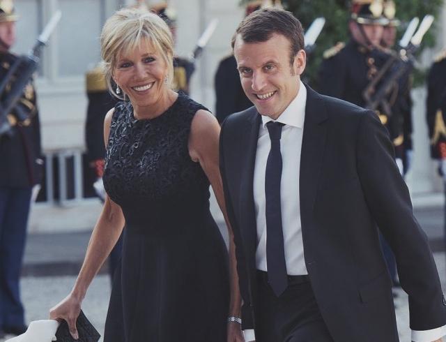 Номер Elle синтервью супруги  Макрона побил десятилетний рекорд продаж
