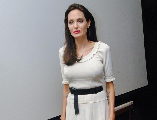 Анджелина Джоли представила вЛос-Анджелесе собственный фильм