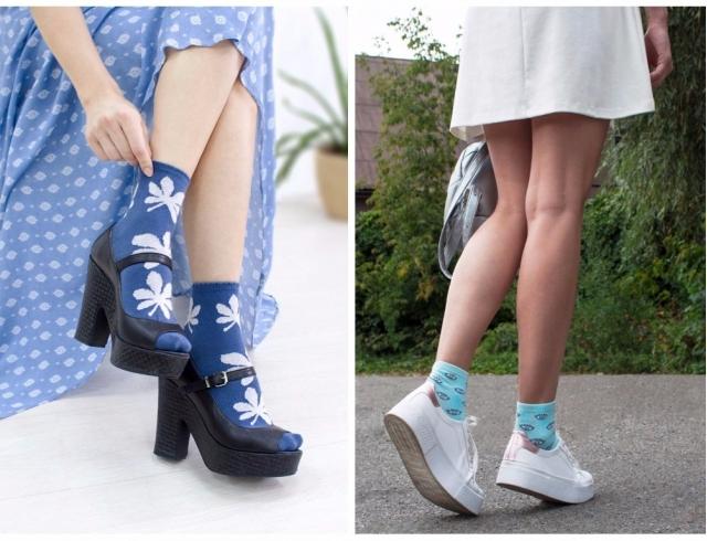 6c8b4f56d08 Цветные носки – проходящий тренд или признание на вечно  Тенденции 2017