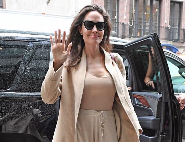 Анджелина Джоли поведала, что заставило ееразвестись сБрэдом Питтом